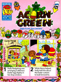 Cover Thumbnail for Acorn Green (Marvel UK, 1986 series) #28
