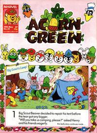 Cover Thumbnail for Acorn Green (Marvel UK, 1986 series) #34