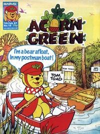 Cover Thumbnail for Acorn Green (Marvel UK, 1986 series) #18