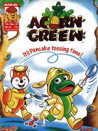 Cover Thumbnail for Acorn Green (Marvel UK, 1986 series) #22