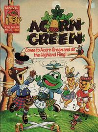 Cover Thumbnail for Acorn Green (Marvel UK, 1986 series) #20