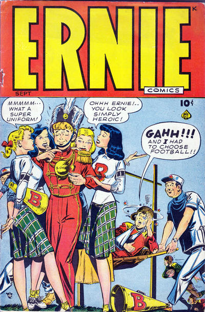 Cover for Ernie Comics (Ace Magazines, 1948 series) #[22]