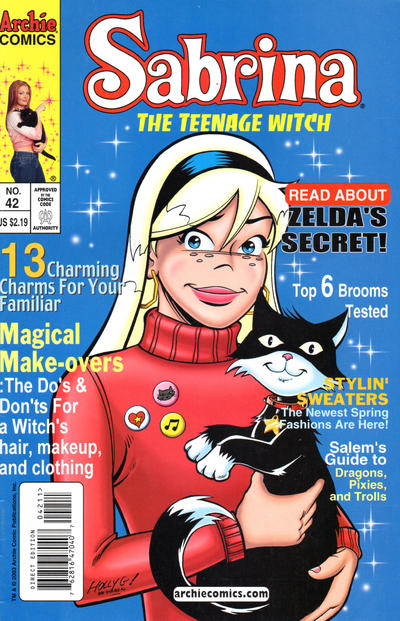 Cover for Sabrina the Teenage Witch (Archie, 2003 series) #42