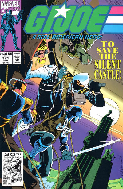 Cover for G.I. Joe, A Real American Hero (Marvel, 1982 series) #121 [Direct Edition]