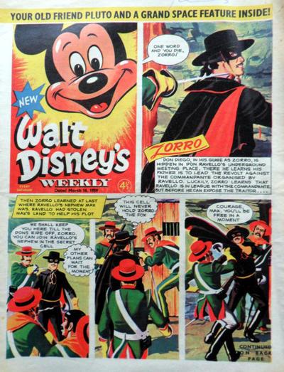 Cover for Walt Disney's Weekly (Disney/Holding, 1959 series) #v1#8