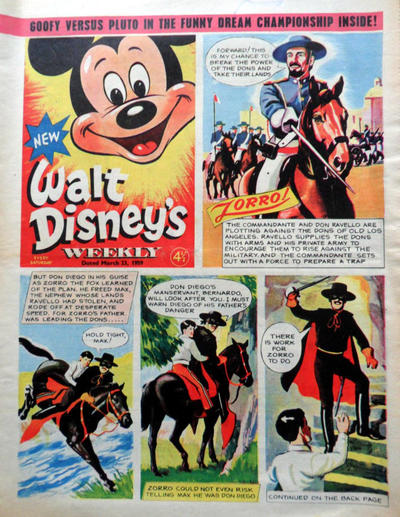 Cover for Walt Disney's Weekly (Disney/Holding, 1959 series) #v1#9