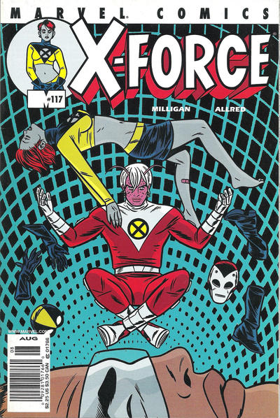Cover for X-Force (Marvel, 1991 series) #117 [Direct Edition]