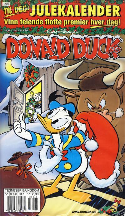 Cover for Donald Duck & Co (Hjemmet / Egmont, 1948 series) #47/2012