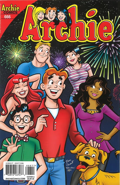 Cover for Archie (Archie, 1959 series) #666 [Dan Parent Kevin Variant Cover]