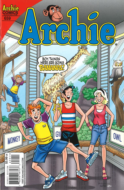 Cover for Archie (Archie, 1959 series) #659 [Zoo-Pendous Variant]