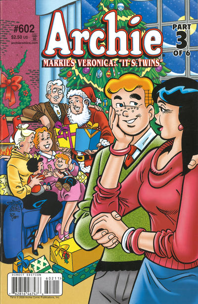 Cover for Archie (Archie, 1959 series) #602 [Direct Edition]