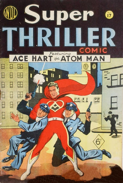 Cover for Super Thriller Comic (World Distributors, 1947 series) #17