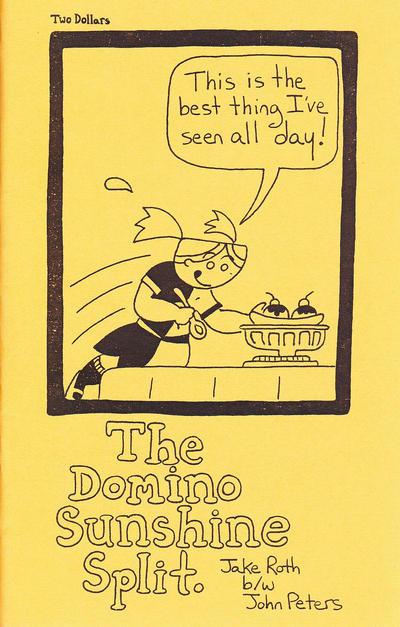 Cover for The Domino Sunshine Split. (Gypsygirl Press, 2014 series)