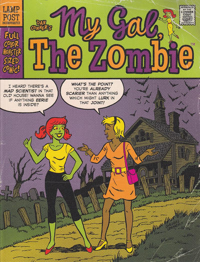 Cover for My Gal, the Zombie: Monster-Sized Edition (Lamp Post Publications, 2015 series)