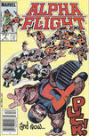 Cover Thumbnail for Alpha Flight (1983 series) #5 [Canadian]