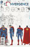 Cover for Convergence (DC, 2015 series) #8 [John Romita Jr. Superman Sketch Cover]