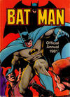 Cover for Batman Annual (Egmont Magazines, 1979 series) #1981