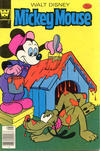 Cover for Mickey Mouse (Western, 1962 series) #186 [Whitman]