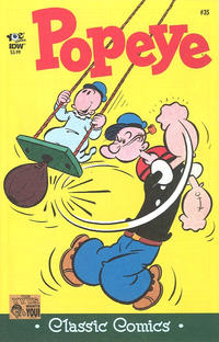 Cover Thumbnail for Classic Popeye (IDW, 2012 series) #35