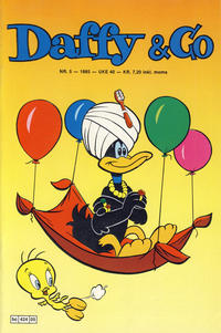 Cover Thumbnail for Daffy & Co (Semic, 1985 series) #5/1985