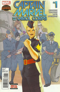 Cover Thumbnail for Captain Marvel & the Carol Corps (Marvel, 2015 series) #1