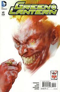 Cover Thumbnail for Green Lantern (DC, 2011 series) #41 [Ben Oliver The Joker 75th Anniversary Variant]