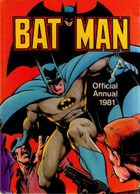 Cover Thumbnail for Batman Annual (Egmont UK, 1979 series) #1981