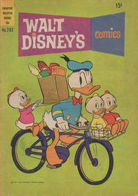 Cover Thumbnail for Walt Disney's Comics (W. G. Publications; Wogan Publications, 1946 series) #292