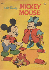 Cover Thumbnail for Walt Disney's Mickey Mouse (W. G. Publications; Wogan Publications, 1956 series) #181