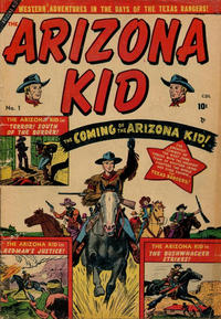 Cover Thumbnail for The Arizona Kid (Superior Publishers Limited, 1951 series) #1