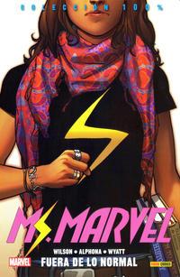 Cover Thumbnail for 100% Marvel. Ms. Marvel (Panini España, 2015 series) #1 - Fuera de lo Normal