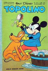 Cover Thumbnail for Topolino (Arnoldo Mondadori Editore, 1949 series) #313