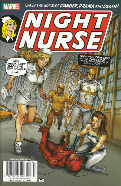 Cover for Night Nurse (Marvel, 2015 series) #1