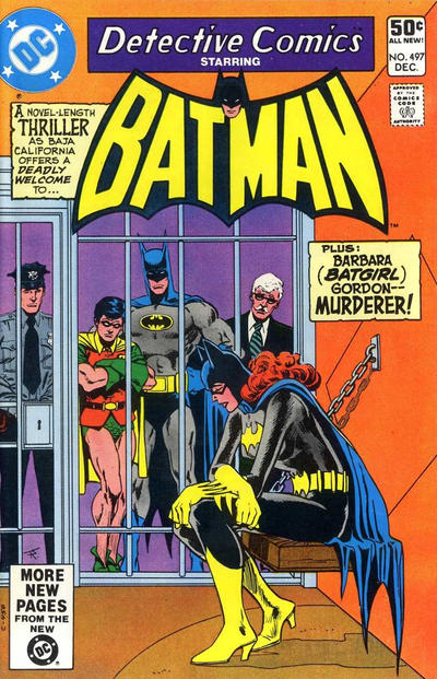 Cover for Detective Comics (DC, 1937 series) #497 [Direct]