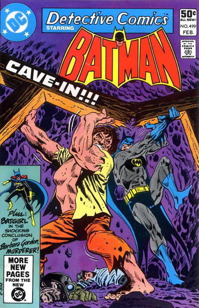 Cover for Detective Comics (DC, 1937 series) #499 [Direct Sales Variant]
