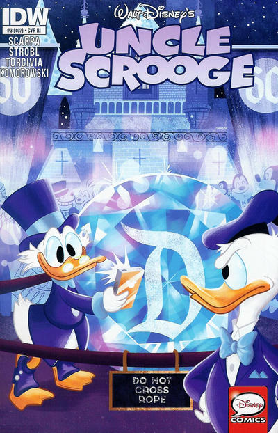 Cover for Uncle Scrooge (IDW, 2015 series) #3 / 407 [Retailer Incentive Variant]