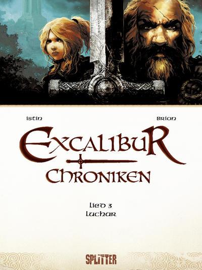 Cover for Excalibur Chroniken (Splitter Verlag, 2013 series) #3 - Luchar
