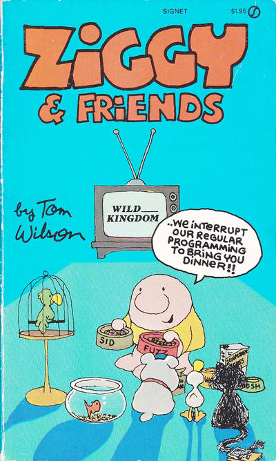Cover for Ziggy & Friends (New American Library, 1983 series) #AJ2248