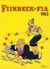 Cover for Fiinbeck og Fia (Hjemmet / Egmont, 1930 series) #1963