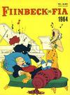 Cover for Fiinbeck og Fia (Hjemmet / Egmont, 1930 series) #1964