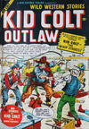 Cover for Kid Colt Outlaw (Bell Features, 1950 series) #10