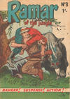 Cover for Ramar of the Jungle (Cleland, 1950 series) #3