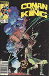 Cover Thumbnail for Conan the King (1984 series) #24 [Canadian Newsstand Edition]