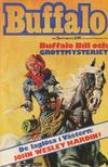 Cover for Buffalo Bill / Buffalo [delas] (Semic, 1965 series) #5/1974