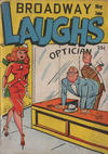 Cover for Broadway Laughs (Prize, 1950 series) #v10#1