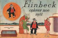 Cover Thumbnail for Fiinbeck og Fia (Hjemmet / Egmont, 1930 series) #1930