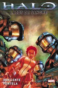 Cover Thumbnail for 100% Cult Comics. Halo - Lazos de Sangre (Panini España, 2012 series)