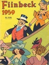 Cover Thumbnail for Fiinbeck og Fia (Hjemmet / Egmont, 1930 series) #1959