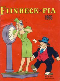 Cover Thumbnail for Fiinbeck og Fia (Hjemmet / Egmont, 1930 series) #1965