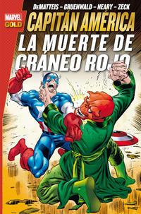 Cover Thumbnail for Marvel Gold. Capitán América: La Muerte de Cráneo Rojo (Panini España, 2014 series)